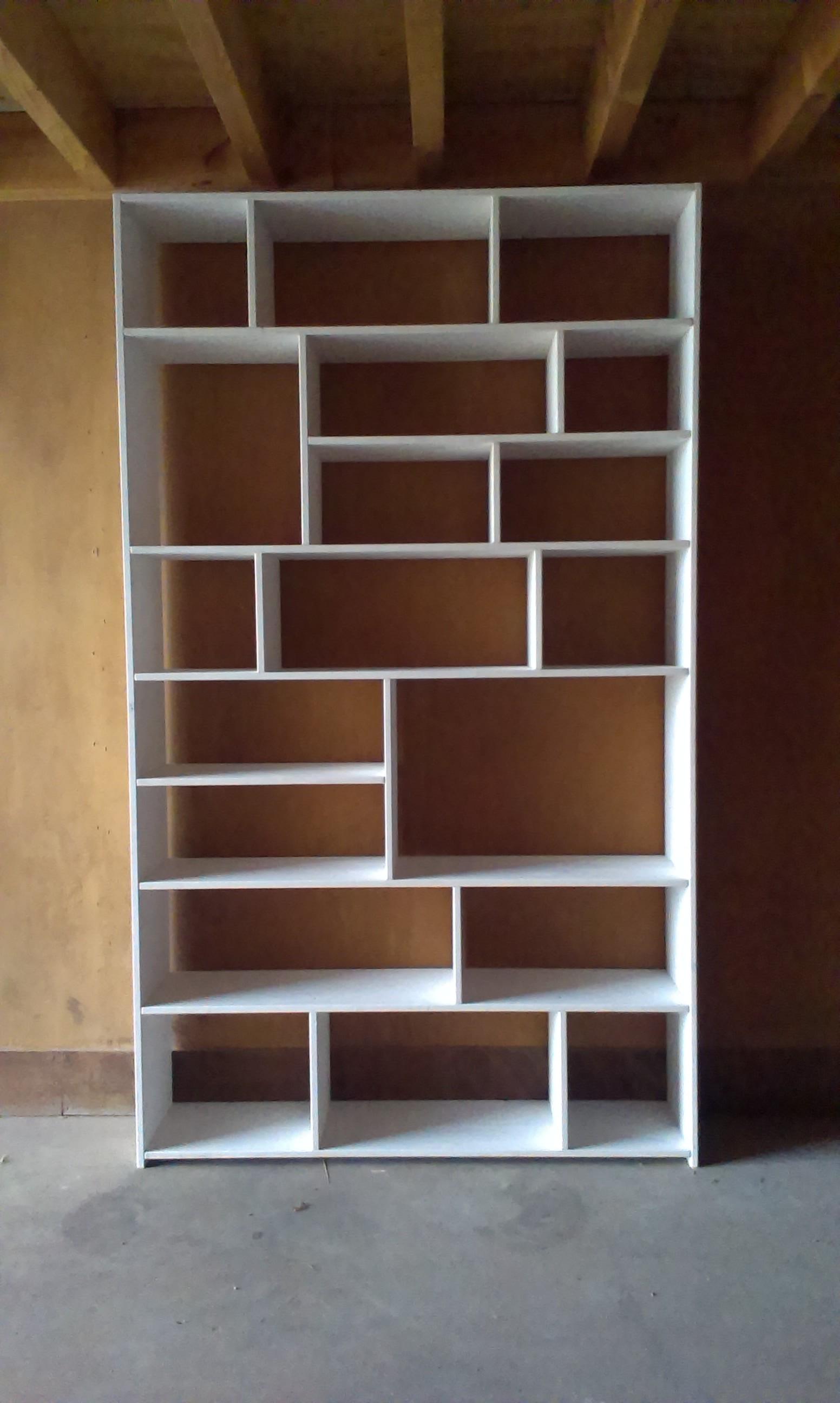 Boekenkast wit | Werkplaats Bas