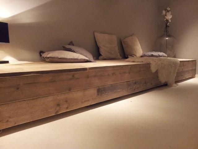 Op maat gemaakte houten meubels   Werkplaats Bas